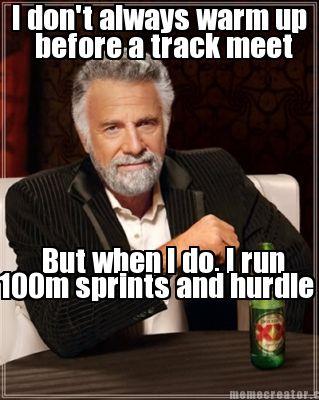 dorky track meet memes