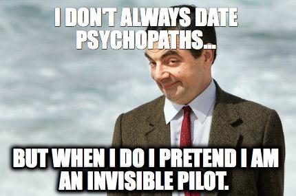 Am i dating a psychopath test